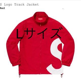 Supreme - S Logo Track Jacket L size RED