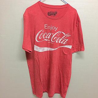 コカコーラ(コカ・コーラ)のcoca cola コカコーラ Tシャツ Lサイズ(Tシャツ/カットソー(半袖/袖なし))