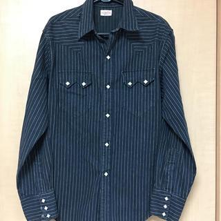 シュガーケーン(Sugar Cane)のsugercane 長袖ジャケットシャツ未使用美品(シャツ)
