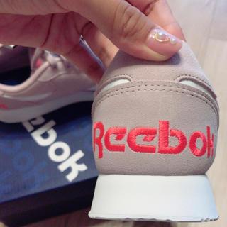 リーボック(Reebok)のリーボック ピンク スニーカー 25.5センチ(スニーカー)