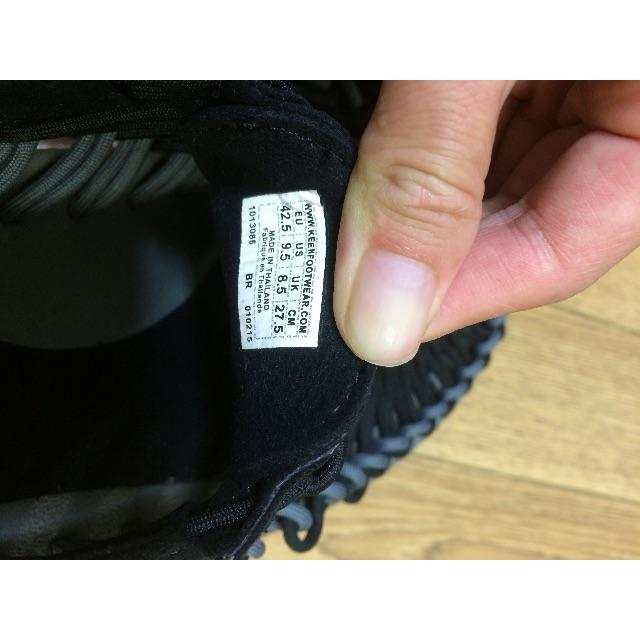 KEEN(キーン)のKEEN ユニーク サンダル ブラック メンズの靴/シューズ(サンダル)の商品写真