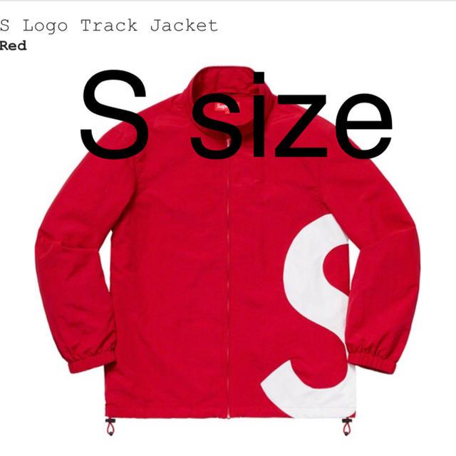Supreme(シュプリーム)のS Logo Track Jacket Ssize RED メンズのジャケット/アウター(ブルゾン)の商品写真