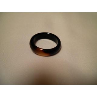 D54f57●パワーストーン●天然石メノウ指輪●瑪瑙 めのう●17号リング●(リング(指輪))