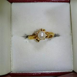 K18パールリング(リング(指輪))