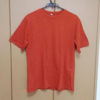 ユニクロ(UNIQLO)のTシャツ  UNIQLOU ユニクロ オレンジ(Tシャツ/カットソー(半袖/袖なし))