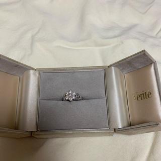 新品仕上げ済み☆1カラットのダイアモンドリング ベリテ購入品(リング(指輪))