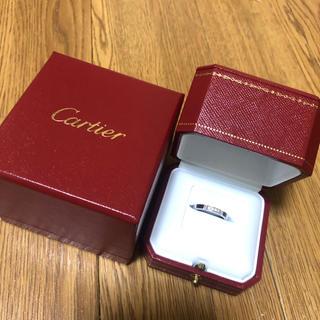 カルティエ(Cartier)のCartier マイヨンパンテールホワイトゴールド #10(リング(指輪))