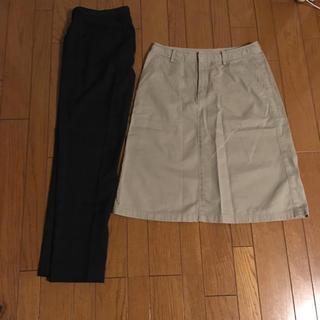 ユニクロ(UNIQLO)のパンツ&スカートセット(セット/コーデ)