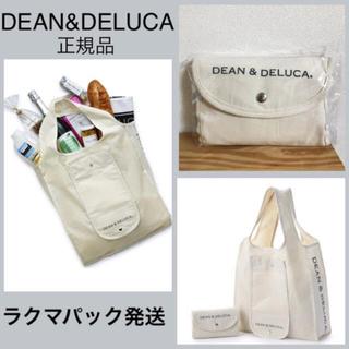 DEAN & DELUCA - DEAN&DELUCA オリジナルショッピングバッグ ナチュラル 新品