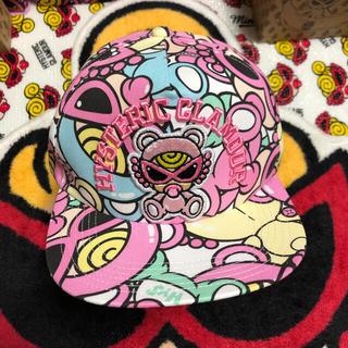 ヒステリックミニ(HYSTERIC MINI)のテディキャップ(帽子)
