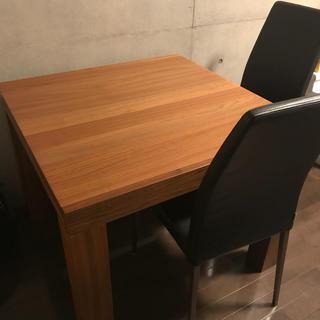 アクタス(ACTUS)の【ニコ様専用】ボーコンセプトダイニングテーブル 椅子二脚セット(ダイニングテーブル)