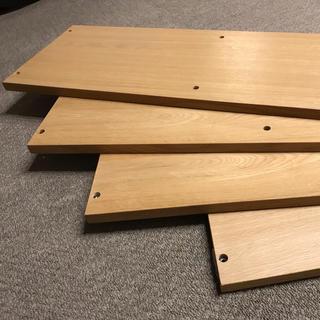 ムジルシリョウヒン(MUJI (無印良品))の無印良品 スタッキングシェルフ 側板(棚/ラック/タンス)
