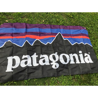パタゴニア(patagonia)のPatagonia ナイロンフラッグ 850×1470 大サイズ  (ナイロンジャケット)