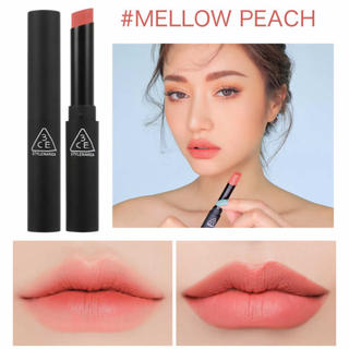 スリーシーイー(3ce)の3CE SLIM VELVET LIP COLOR MELLOW PEACH(口紅)
