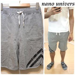 ナノユニバース(nano・universe)のnano universハーフパンツショートパンツ送料込(ショートパンツ)