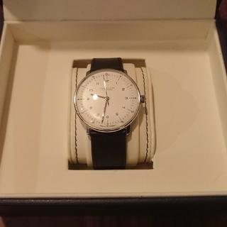ユンハンス(JUNGHANS)のJUNGHANS MAX BILL AUTOMATIC 027 3500 00(腕時計(アナログ))