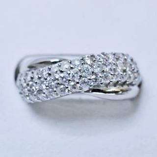 フカツママ様専用※天然ダイヤモンド1.00ctデザインリング(リング(指輪))