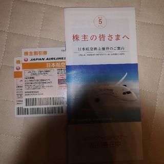 ジャル(ニホンコウクウ)(JAL(日本航空))のJAL☆株主優待☆2020年5月31日まで(航空券)