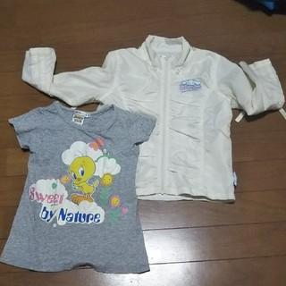 バンダイ(BANDAI)の110 女の子(Tシャツ/カットソー)