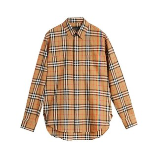 BURBERRY - 【新品未使用】BURBERRY レインボー チェックシャツ Lサイズ