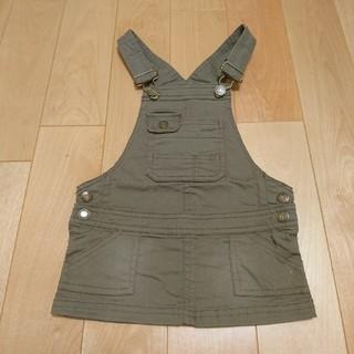 ニシマツヤ(西松屋)のジャンバースカート  80cm(スカート)