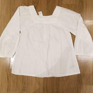 ギャップ(GAP)の新品タグ付きGAPブラウス(シャツ/ブラウス(半袖/袖なし))