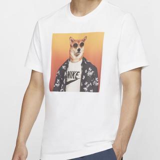 ナイキ(NIKE)の完売 NIKE NSW STORY PACK Tシャツ ホワイト XLサイズ(Tシャツ/カットソー(半袖/袖なし))