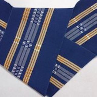 首里織ミンサー828260(半幅帯)(浴衣帯)