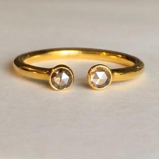 ローズカットダイヤモンドk18 ゴールドリング 検索 マリーエレーヌジェムパレス(リング(指輪))