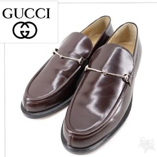 グッチ(Gucci)の未使用 GUCCI グッチ ローファー ✯高島屋購入直営 正規品  美しい逸品 (ローファー/革靴)