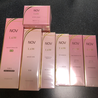 ノブ(NOV)のノブ  L&W 7点セット   NOV(化粧水 / ローション)