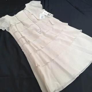 スコットクラブ(SCOT CLUB)の新品☆タグ付き☆petit poudre ワンピース ドレス(ミディアムドレス)
