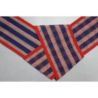 首里織ミンサー828461(半幅帯)(浴衣帯)