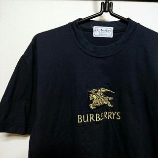 BURBERRY - 【希少】90s Burberrys バーバリー プローサム ゴールド Tシャツ