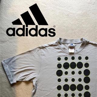 アディダス(adidas)のアディダス Tシャツ M グレー(Tシャツ/カットソー(半袖/袖なし))