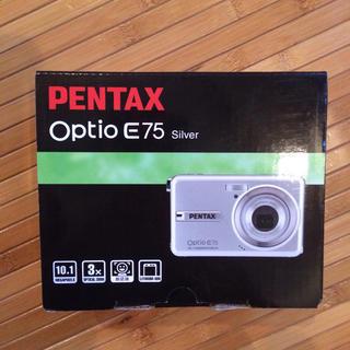 ペンタックス(PENTAX)のジャンク。デジカメ PENTAX Optio E75(コンパクトデジタルカメラ)
