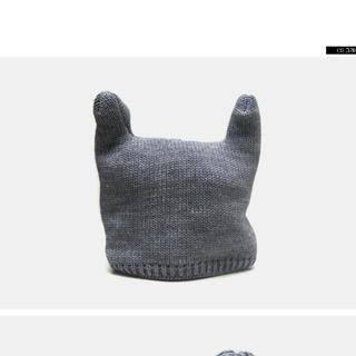 スタイルナンダ(STYLENANDA)の耳付き ニット帽(ニット帽/ビーニー)