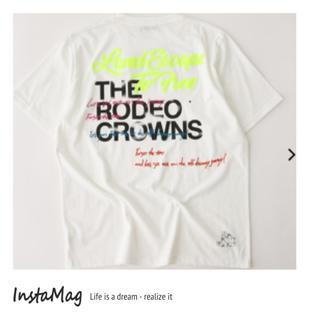 ロデオクラウンズワイドボウル(RODEO CROWNS WIDE BOWL)のロデオクラウンズ メンズ 0528 バースデー Tシャツ(Tシャツ/カットソー(半袖/袖なし))
