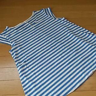 セシール(cecile)のボーダーTシャツ(Tシャツ(半袖/袖なし))