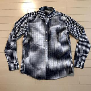 GU - GU チェックシャツ サイズM