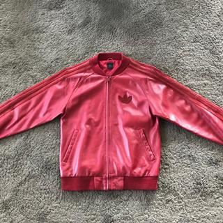 アディダス(adidas)のadidas Leather Jacket (レザージャケット)(レザージャケット)