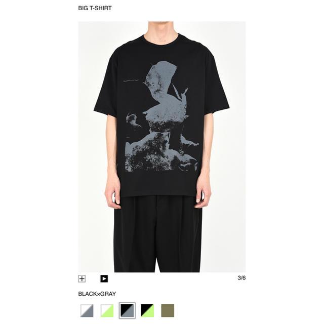 LAD MUSICIAN(ラッドミュージシャン)のLAD MUSICIAN BIG T-SHIR メンズのトップス(Tシャツ/カットソー(半袖/袖なし))の商品写真