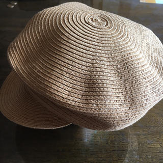 ウィゴー(WEGO)のペーパーキャスケット 麦わら帽子(キャスケット)