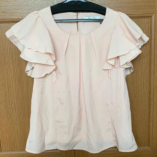 シマムラ(しまむら)の袖フリルブラウス(シャツ/ブラウス(半袖/袖なし))