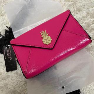 Victoria's Secret - ラスイチ‼️値下げすみ VS 最新作🍍可愛いピンクのカードケース 新品タグ付き