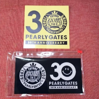 PEARLY GATES - パーリーゲイツ 30周年 3点セット