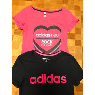 アディダス(adidas)のアディダス Tシャツ  2枚2枚(Tシャツ(半袖/袖なし))