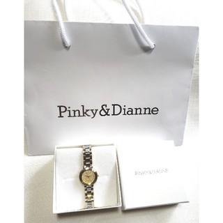 ピンキーアンドダイアン(Pinky&Dianne)のPINKY&DIANNE ピンキー&ダイアン【美品】シルバー×ゴールド腕時計(腕時計)