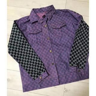 グッチ(Gucci)のImran Potato 紫 Jacket求む(Gジャン/デニムジャケット)