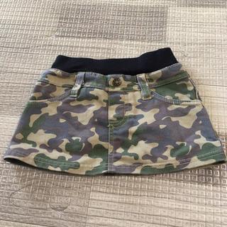 ニシマツヤ(西松屋)の迷彩柄ミニスカート(スカート)